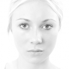 Model close up
